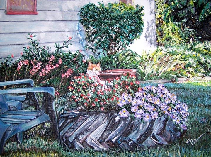 Fine Art Floral Oil Paintings